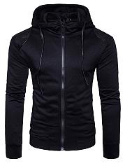 Men-Hooded-Drawstring-Patchwork-Pocket-Coat