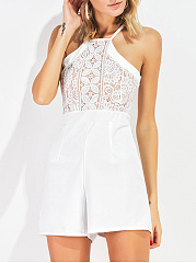 Spaghetti-Strap-Hollow-Out-Plain-Romper