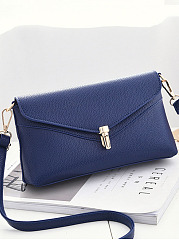 Pu Messenger Bag Mini Crossbody Bag