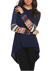 Hooded-Printed-Long-Sleeve-T-Shirt