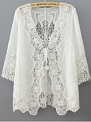 Hollow-Out-Plain-Kimono