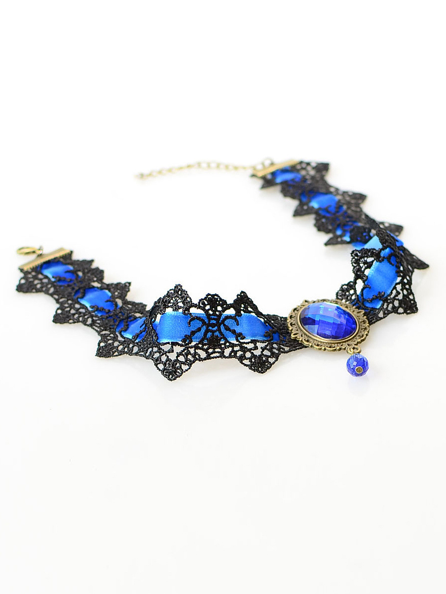 Vintage Velvet Choker Necklace