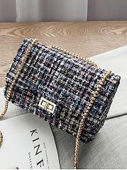 Tweed-Chain-Classic-Plaid-Chain-Crossbody-Bag