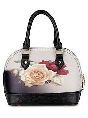 Elegant-Rose-Print-Pu-Shoulder-Bag-Hand-Bag