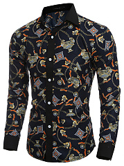 Modern-Printed-Single-Breasted-Men-Shirts