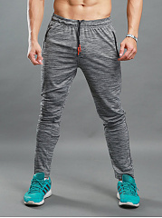Elastic-Waist-Zips-Pocket-Mens-Sport-Pants