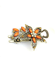 Flower Shape Vintage Hair Clip