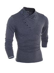 Buttons-High-Neck-Mens-Sweatshirt