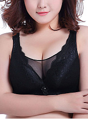 New Plus Size Wireless Gather Adjustable Soft Bra