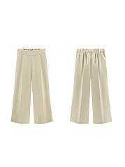 New High Waist Loose Thin Chiffon Wide Leg Pants