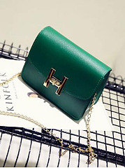 Chic Fashion Stylish Plain Color  Crossbody Bag
