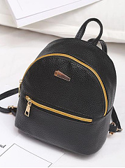 New Fashion Zipper Stylish Backpack
