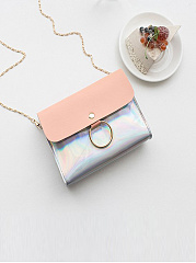 Laser Mini Chain Small Square Bag