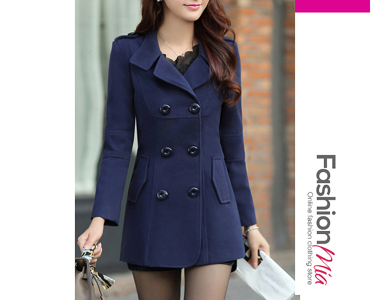 gender:women, hooded:no, thickness:thick, brand_name:fashionmia, outerwear_type:coat, style:elegant*fashion, material:woolen, collar&neckline:lapel, sleeve:long sleeve, embellishment:double breasted*flap pocket, pattern_type:plain, supplementary_matters:all dimensions are measured manually with a deviation of 2 to 4cm., occasion:date, season:winter, package_included:top*1, lengthshouldersleeve lengthbust