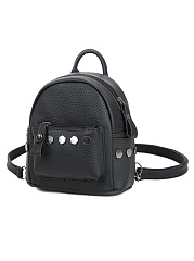 Rivet Two Ways Croccbody Bag Backpack