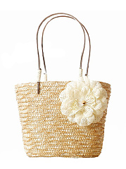 Straw-Large-Capacity-Floral-Beach-Bag