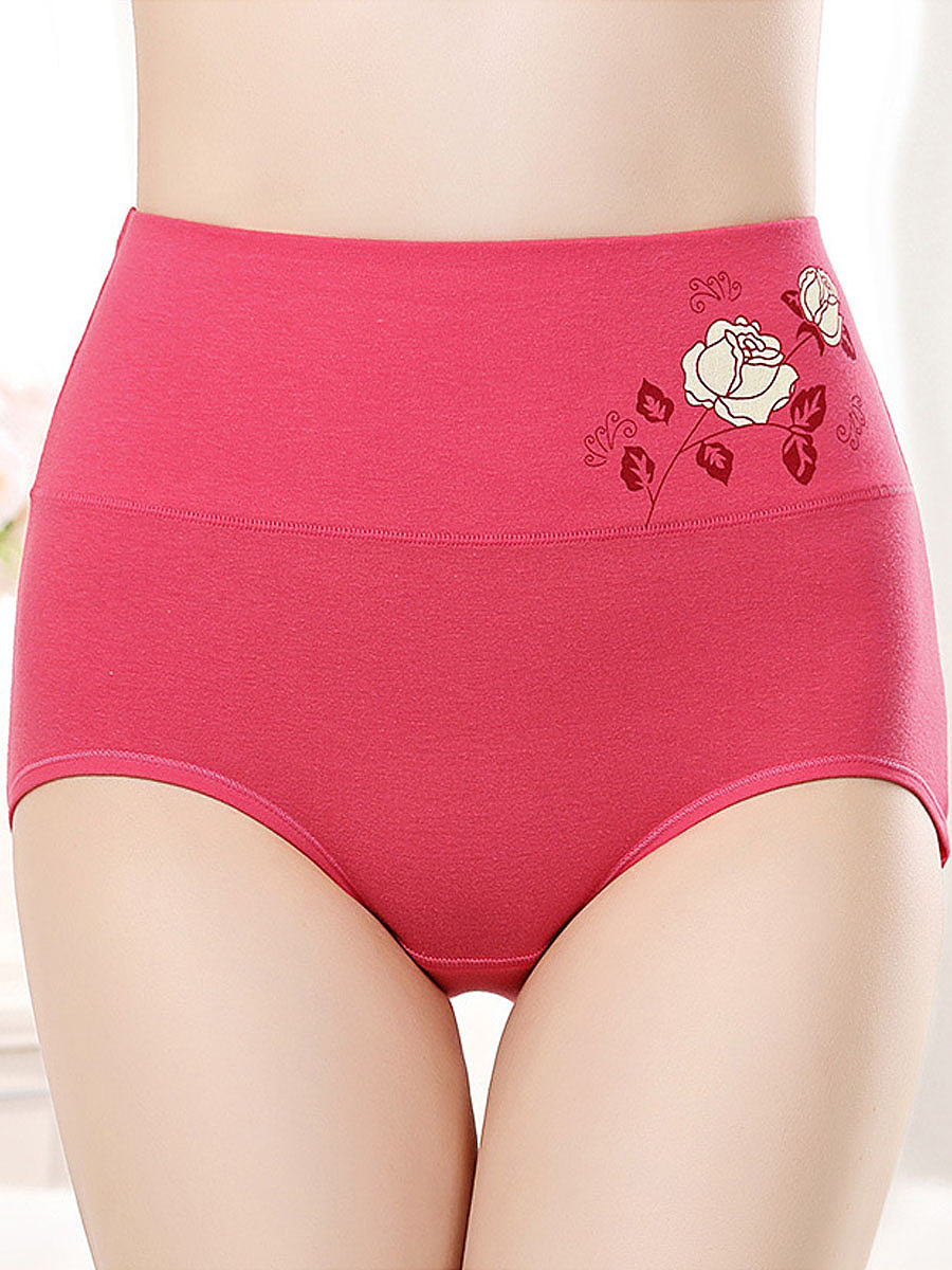 Soft Shaping Body Fitness Foral Panties