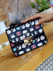 Korea Style  Cartoon Mini Square Corssbody Bag