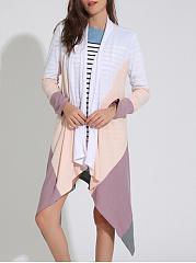 Color-Block-Lapel-Asymmetric-Hem-Longline-Cardigan