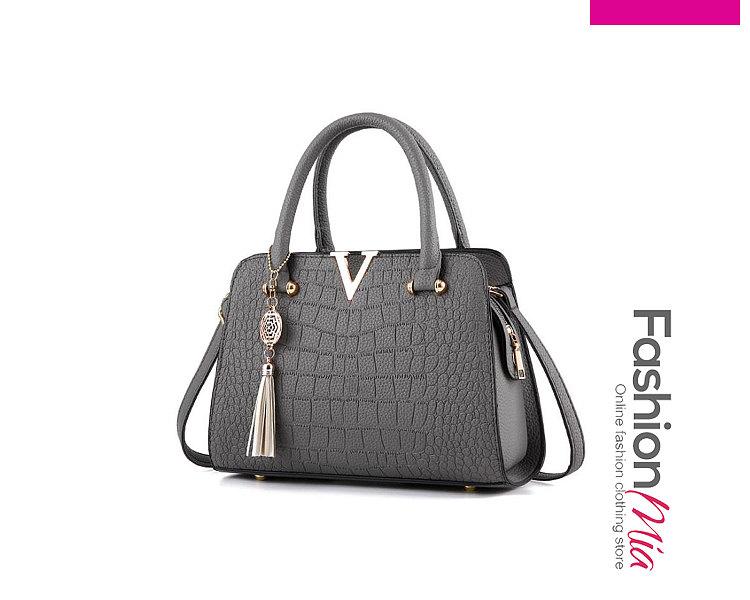 Crocodile Pattern Shoulder Bags