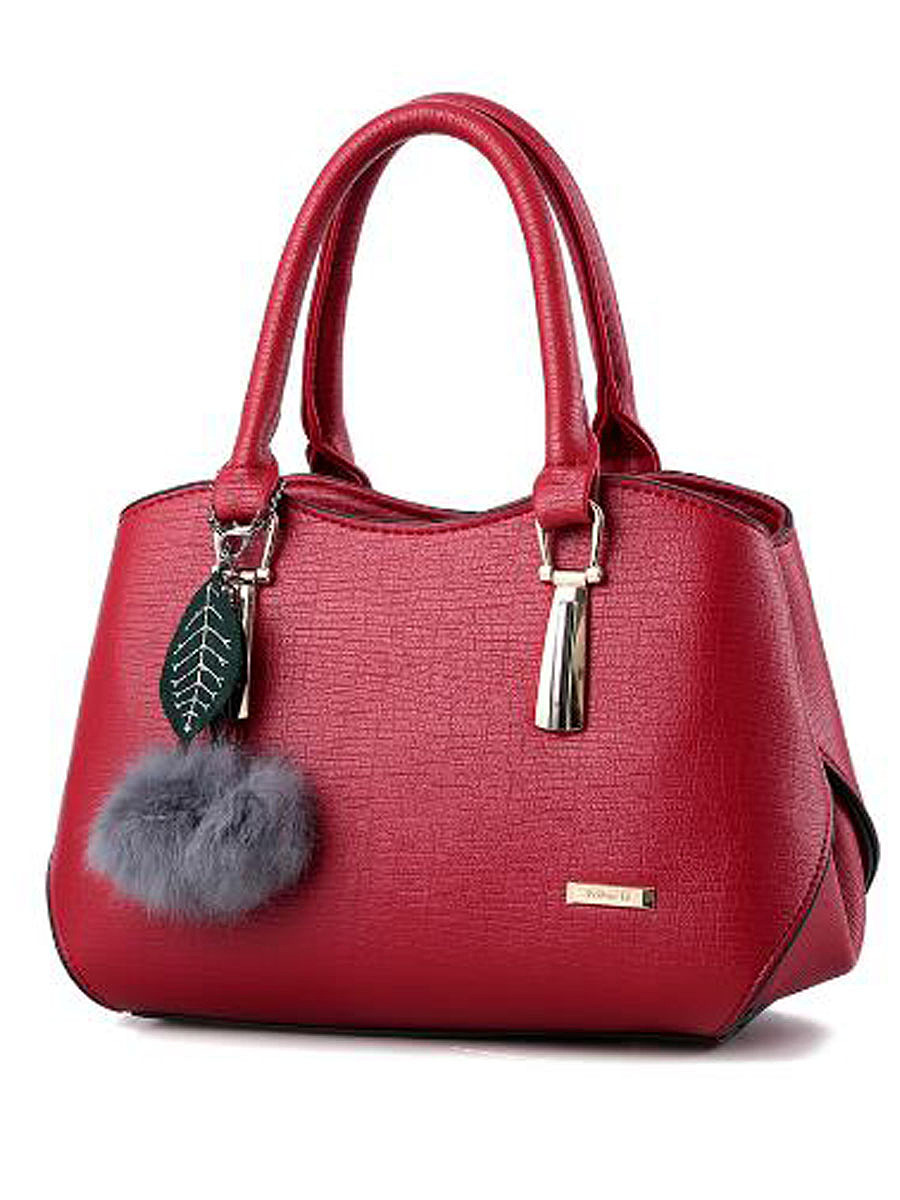 Korea Lady Stylish All-Match Leave Decoration Hand Bag