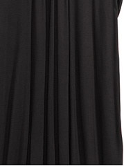 V-Neck  Asymmetric Hem  Plain Plus Size Midi & Maxi Dress
