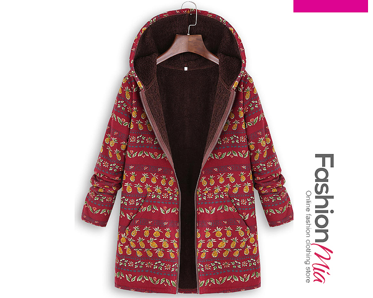 gender:women, hooded:yes, thickness:thick, brand_name:fashionmia, outerwear_type:coat, style:fashion,lady style, material:polyester, collar&neckline:hooded, sleeve:long sleeve, embellishment:slit pocket,zips, pattern_type:abstract print, how_to_wash:machine wash, supplementary_matters:all dimensions are measured manually with a deviation of 2 to 4cm., occasion:basic,daily,nightout, season:autumn,winter, package_included:top*1, lengthsleeve lengthbust