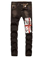 Trendy-Flag-Printed-Straight-Mens-Jeans