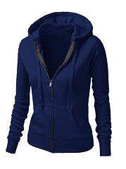 Zips-Plain-Long-Sleeve-Hoodies