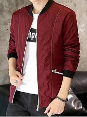 Band-Collar-Zips-Pocket-Men-Jacket