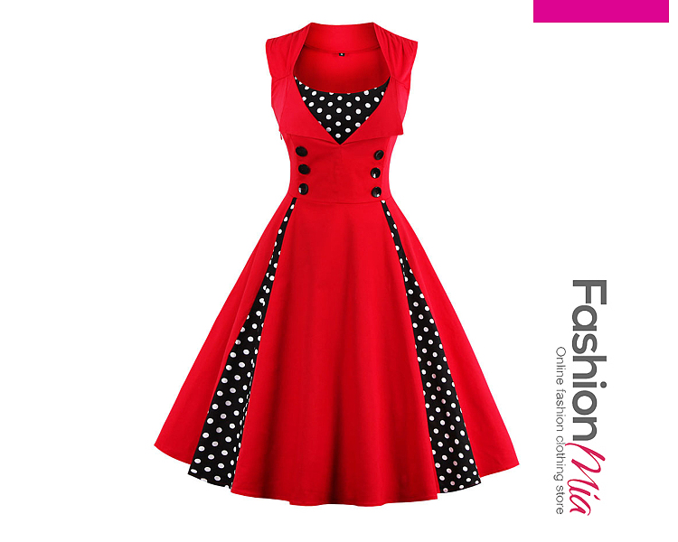 thickness:regular, brand_name:fashionmia, down_content:100%, style:fashion, material:polyester, collar&neckline:round neck, sleeve:sleeveless, embellishment:patchwork, pattern_type:plain, length:calf-length, how_to_wash:cold  hand wash, supplementary_matters:accessory is excluded., occasion:daily*date*party, season:spring*summer, dress_silhouette:fitted, package_included:dress*1, length:102,bust:98-103,waist:78-83,