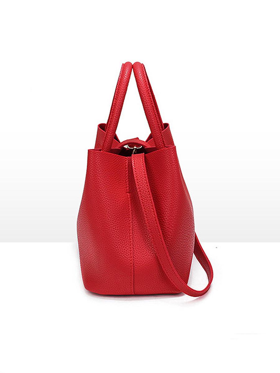 Hot Korea Stylish Faux PU Shoulder Bag