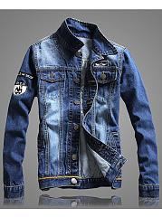 Denim-Letters-Embroidery-Flap-Pocket-Men-Jacket