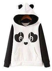Lovely-Panda-Printed-Kangaroo-Pocket-Hoodie