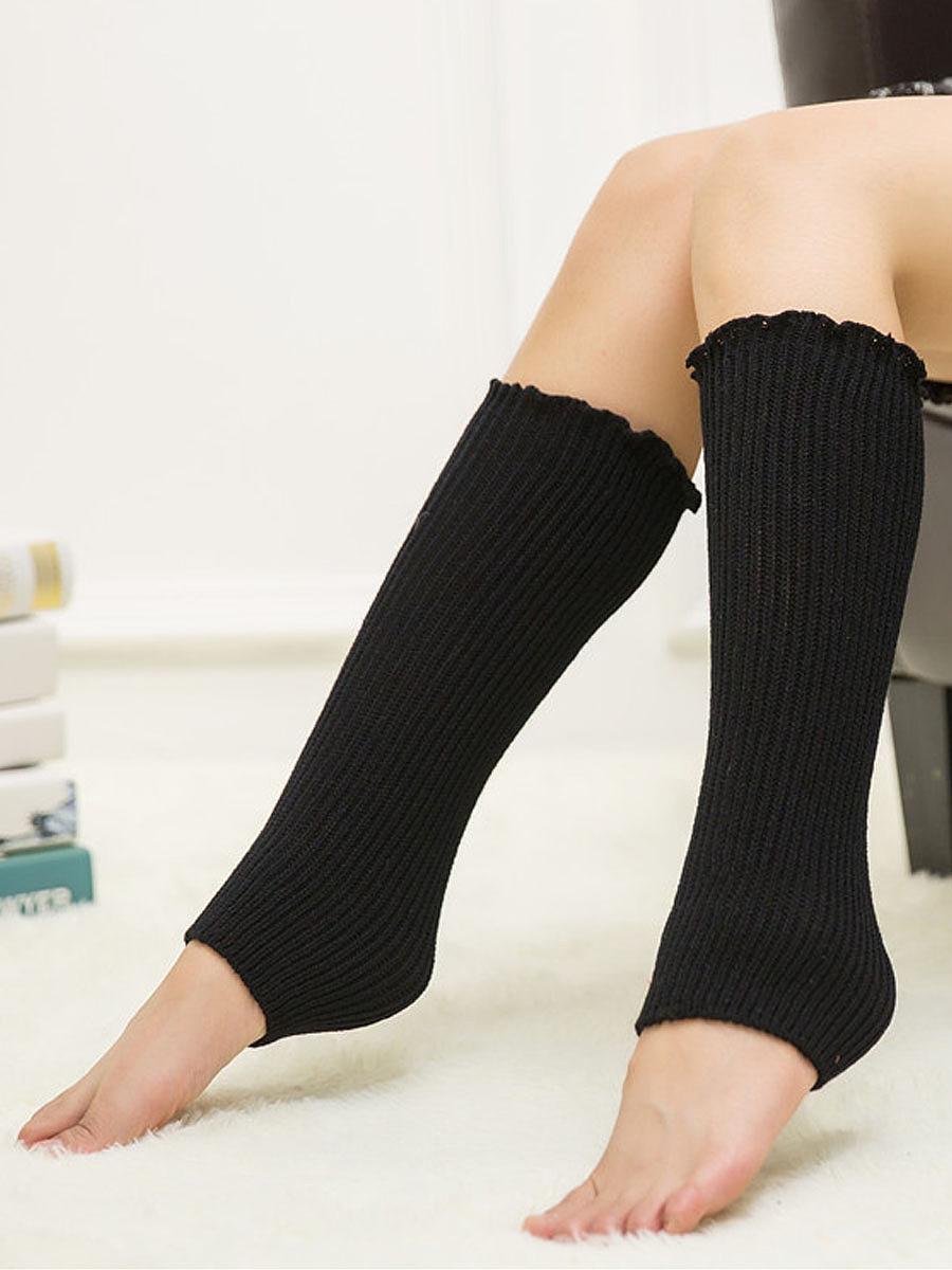 Fall fashion leg warmers