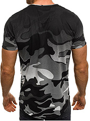 Camouflage  Short Sleeve Short Sleeves T-Shirts