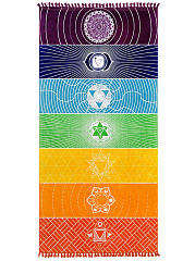 Fringe-Rainbow-Printed-Rectangle-Beach-Shawl