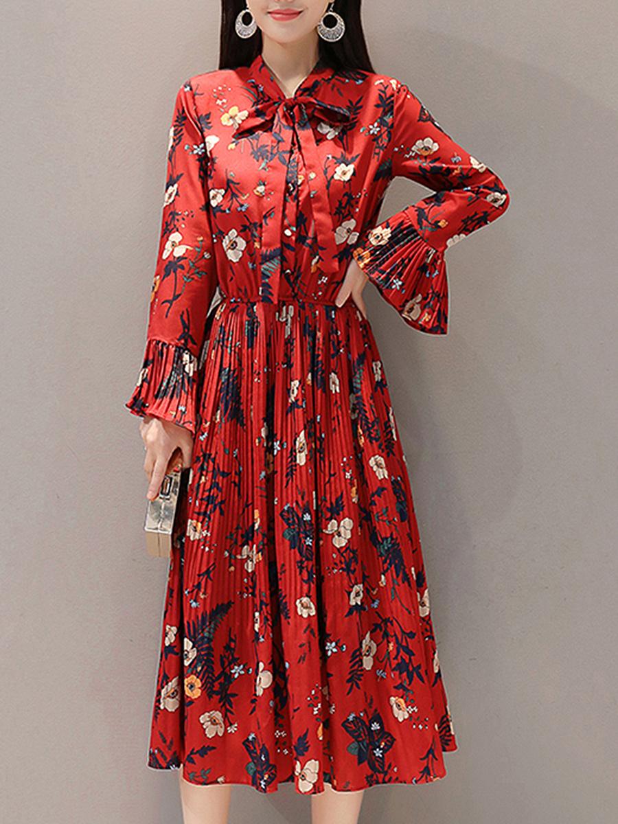 https://www.fashionmia.com/Products/tie-collar-elastic-waist-striped-maxi-dress-212384.html