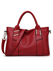 European Style Soft Leather  Large Capacity  Single Shoulder Bag