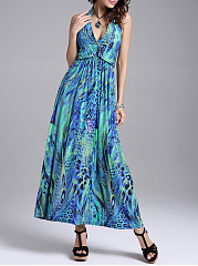 Halter-Backless-Maxi-Dress-In-Animal-Printed