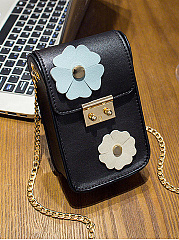 PU Floral Crossbody Bags