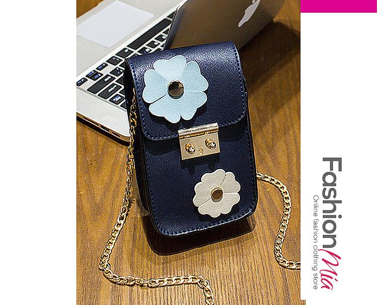 PU Floral Crossbody Bags
