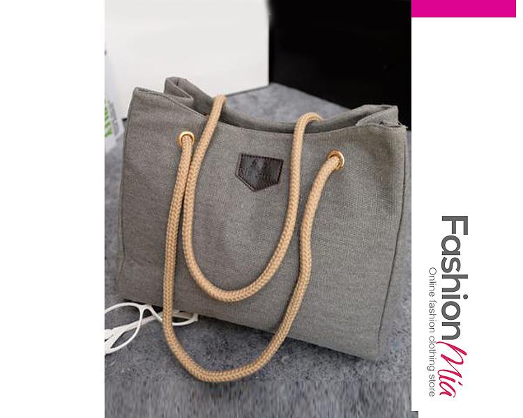 Image of New Fashion Large Capacity Canvas Shoulder Bag