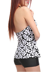 Lightweight  High Stretch  Abstract Print One Piece