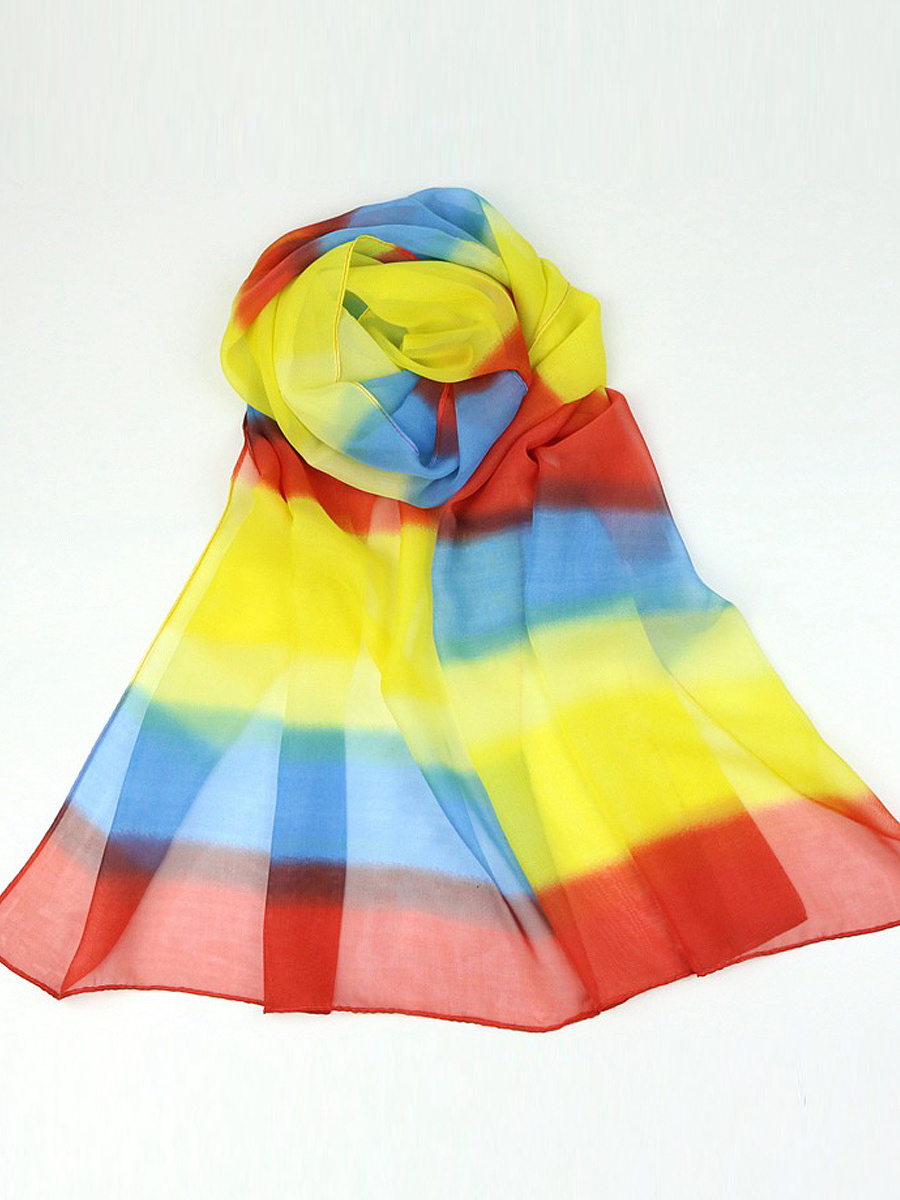 Colorful Boho Long Scarf