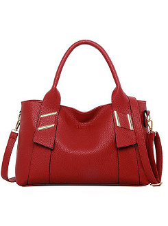 New Style Plain Luxury Women Hand Bags