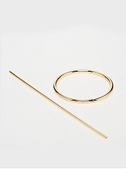 Two Pieces Round Hairpin