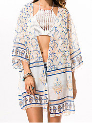 Backless Lightweight  Bohemian Kimono For Women
