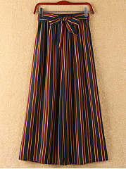 New Style Striped Wide-Leg Pants