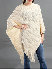 Fringe  Brocade  Cape Sleeve Cape